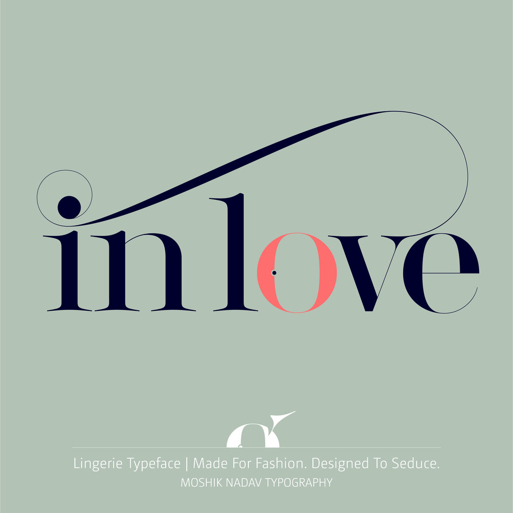 In Love with Fashion Typography