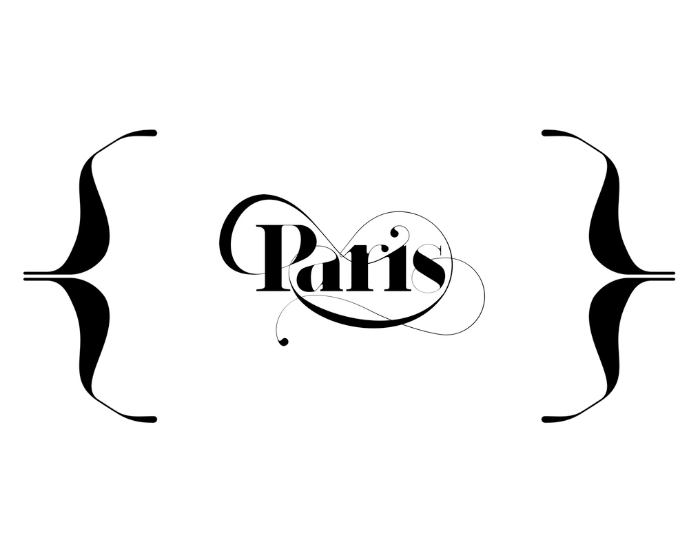 Paris typeface - moshik nadav typography