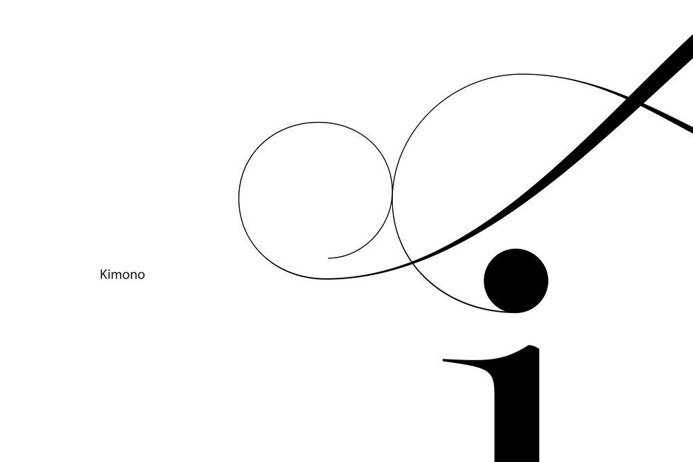 Lingerie Typeface Kimono swashes ends - Moshik Nadav Typography