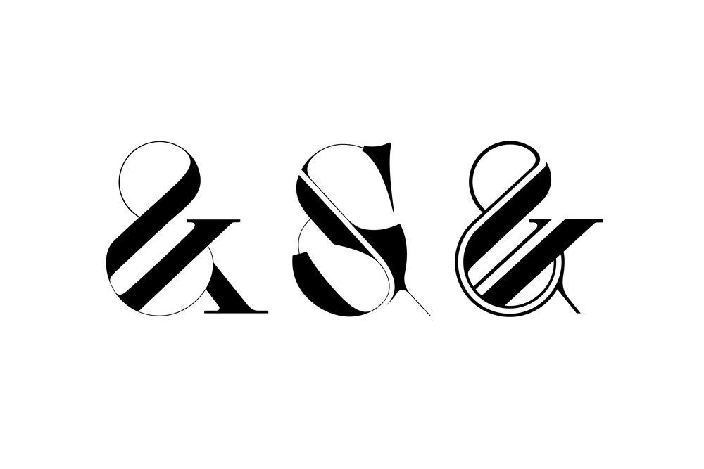 custom ampersands