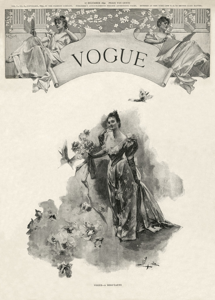 Vogue Magazine 1892 - Moshik Nadav Typography