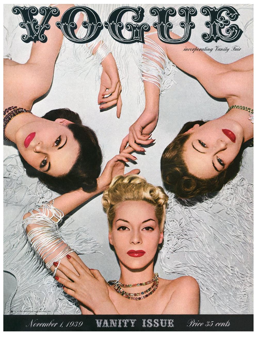 Vogue Magazine logotype - Moshik Nadav Typography