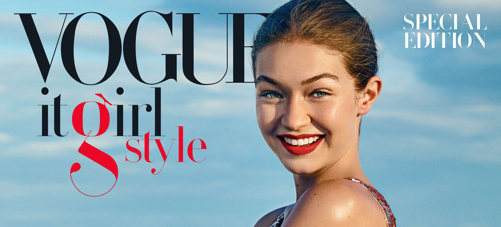Paris Typeface using Vogue Magazine - Moshik Nadav Typography