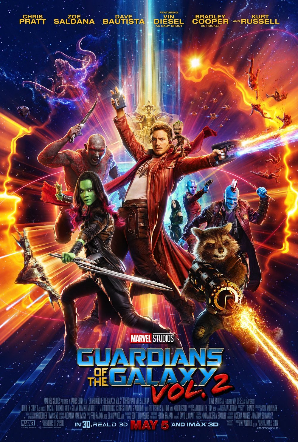 Guardians of the Galaxy Vol. 2 - Legacy Effects On-Set Coordinator