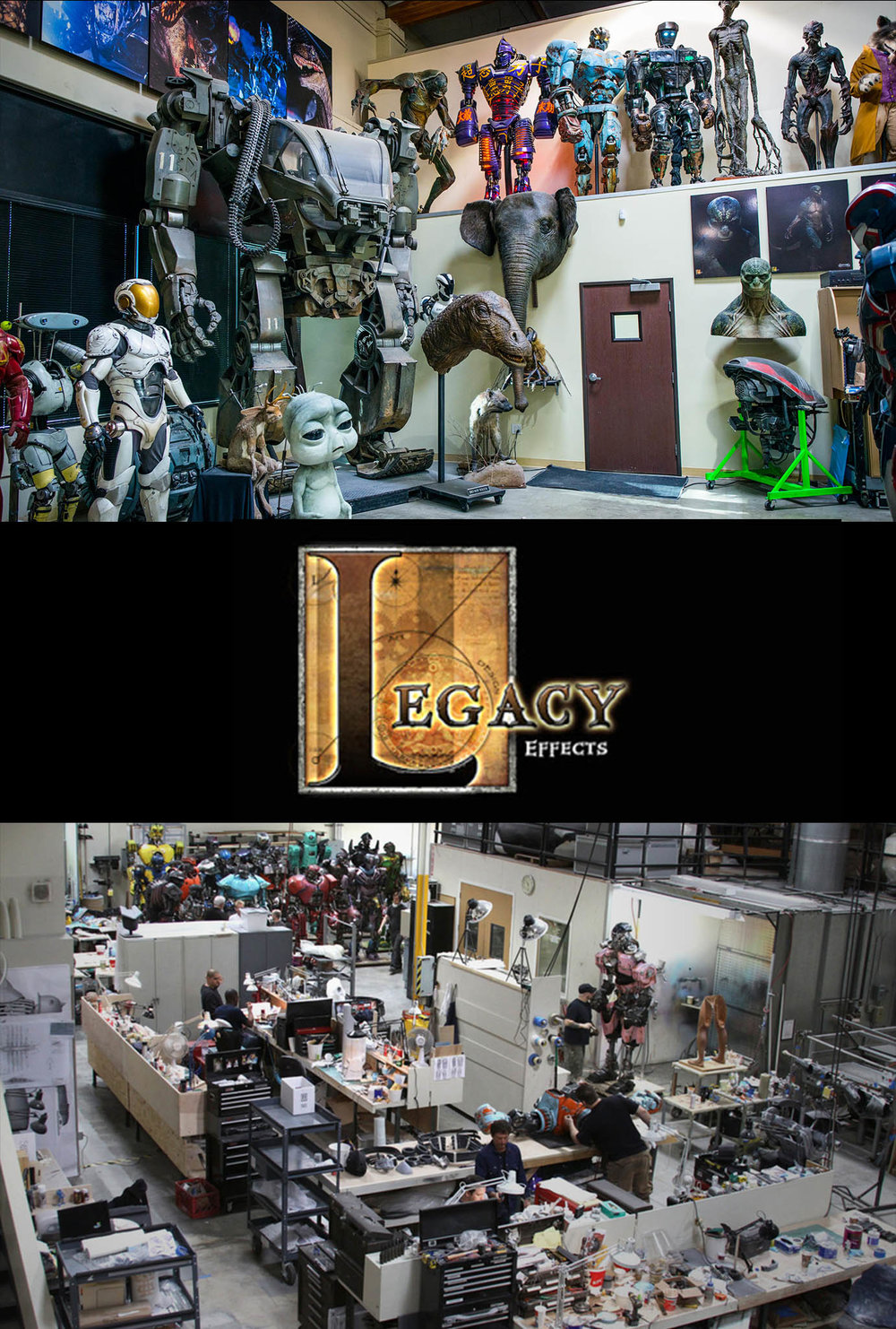 Legacy Effects Shop - Fabricator / Coordinator