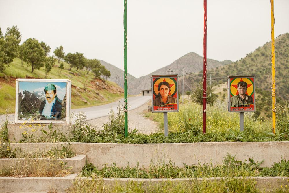 Iraq/Iran border,PKK.