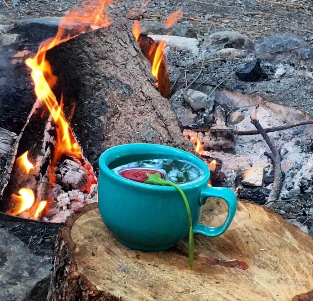 Sweet Dreams Tea by the fire