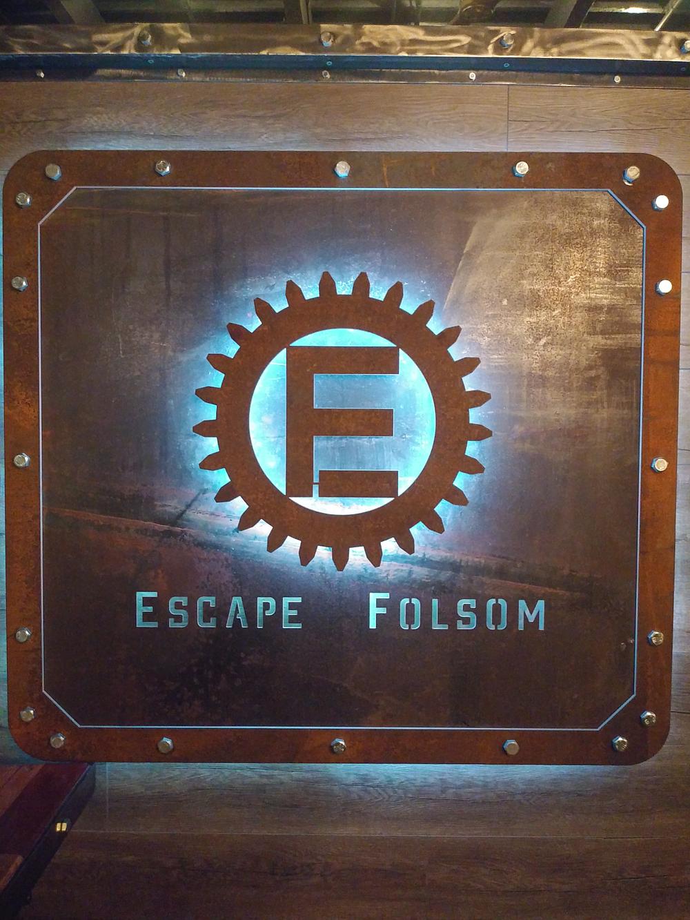 Escape Folsom - 727 Traders Ln, Folsom, CAEscape Folsom Sign