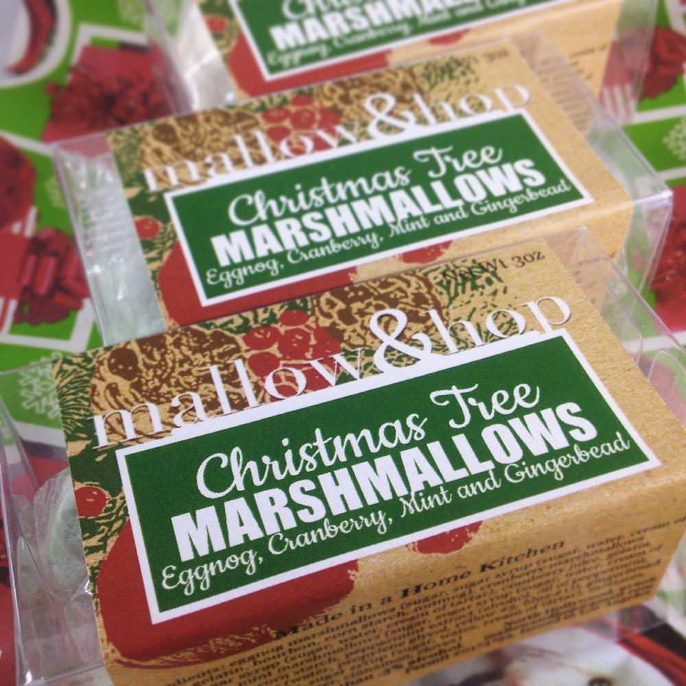 Christmas Tree Marshmallows