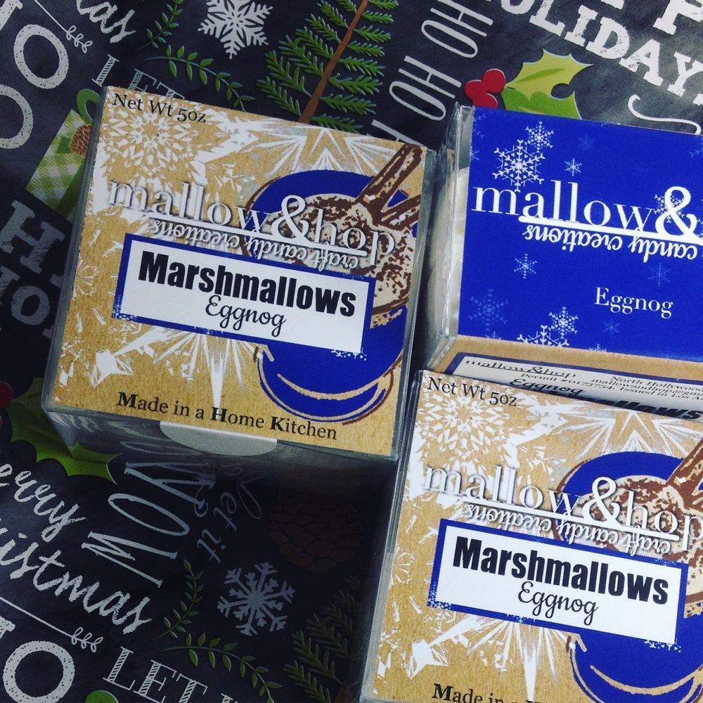 Eggnog Marshmallows