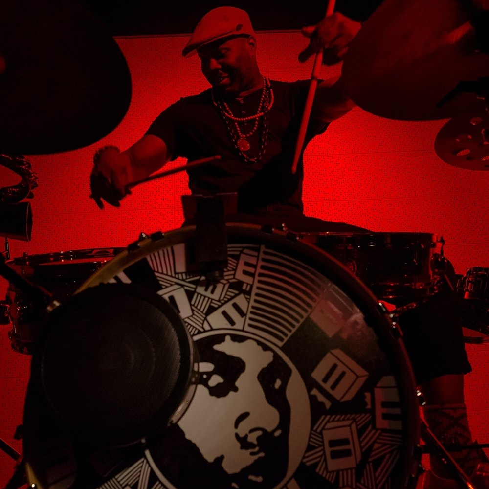 DARU JONES: (drummer, producer, music director) Jack White, Jamie Lidell, DMD