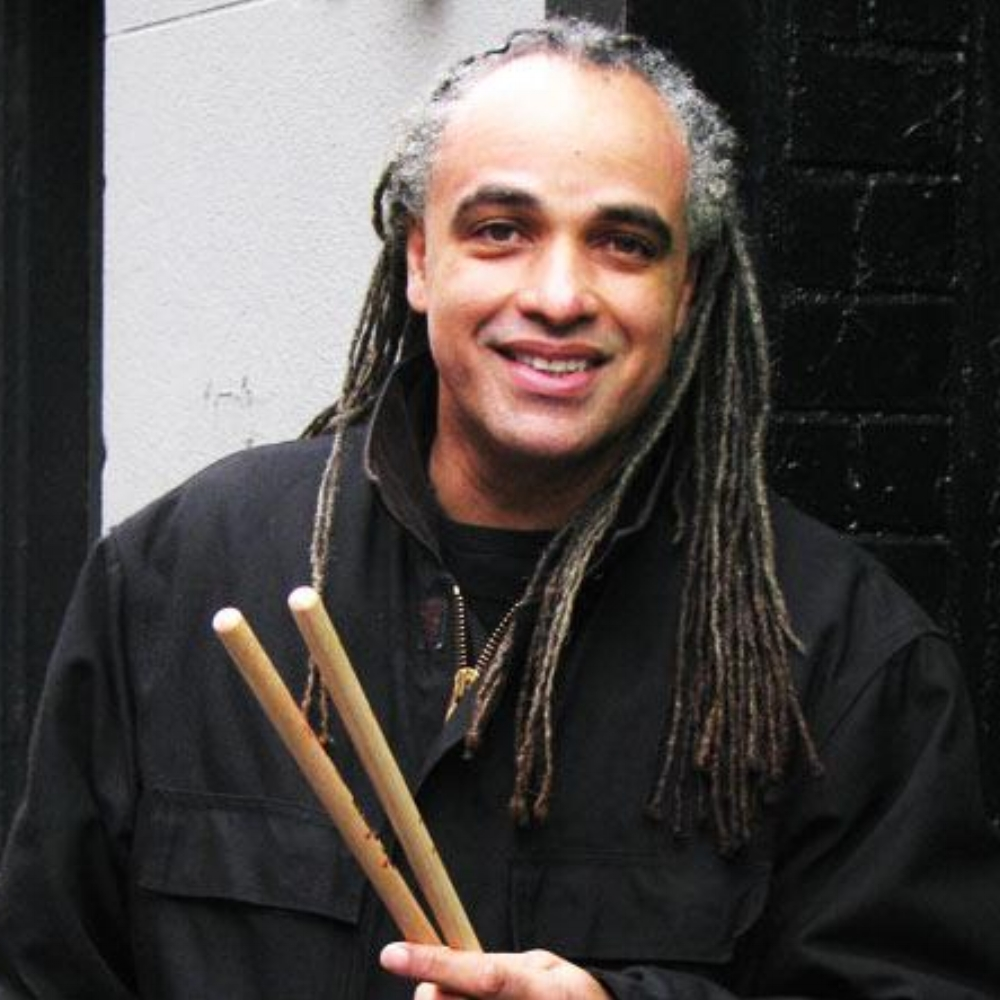 MINO CINELU: (percussionist, composer) Miles Davis, Stevie Wonder, Weather Report, Sting, Herbie Hancock, Kate Bush, Lou Reed
