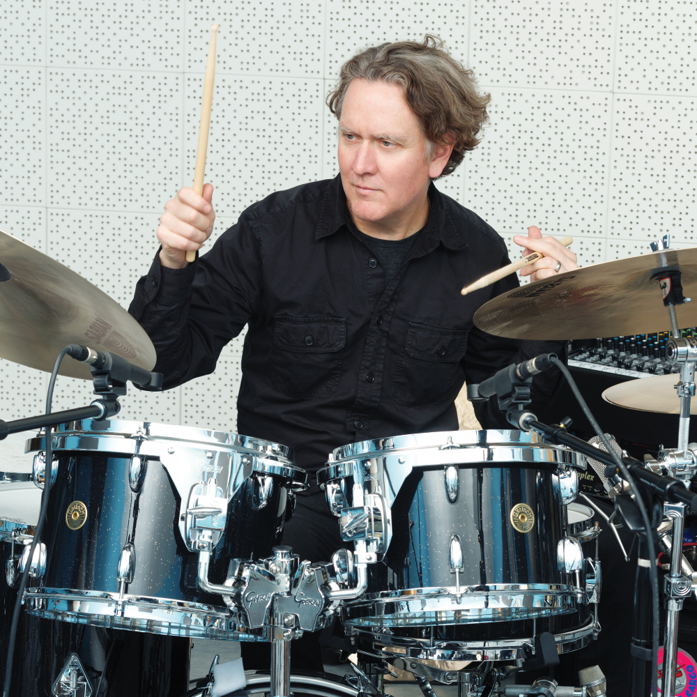 MATT CHAMBERLAIN: (drummer) Pearl Jam, Soundgarden, Fiona Apple, SNL Of Montreal, David Bowie, Martina McBride, SNL