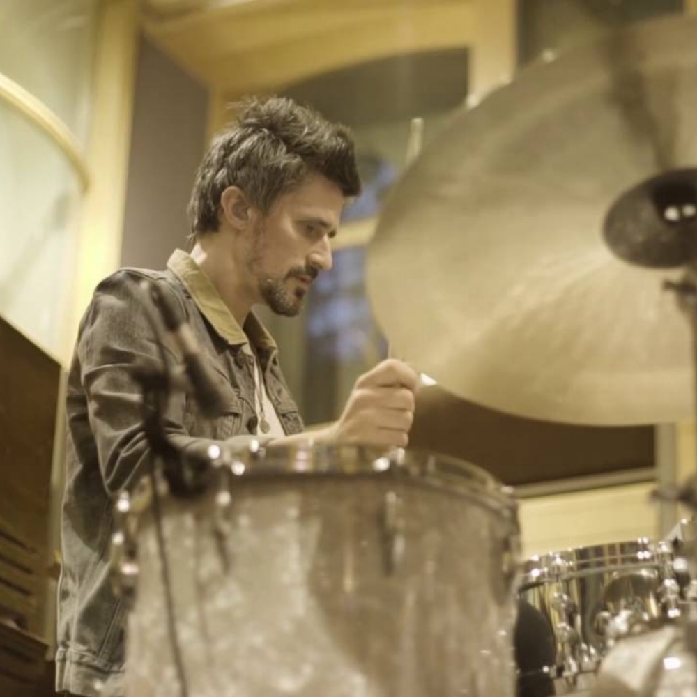ALEX REEVES: (drummer) Elbow, studio musician