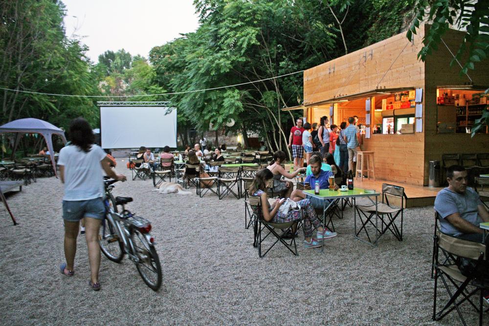 A2 terrace bar