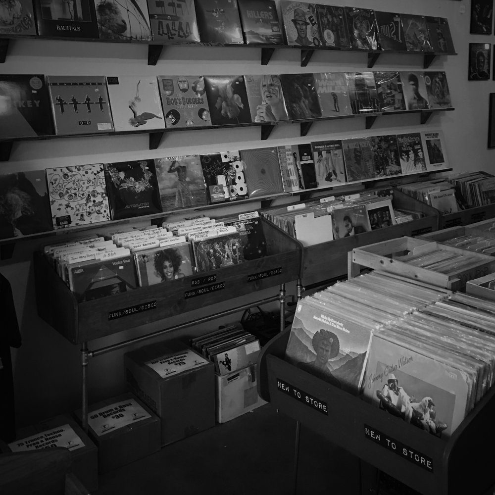 REMIX RECORD SHOP - NEW WALL