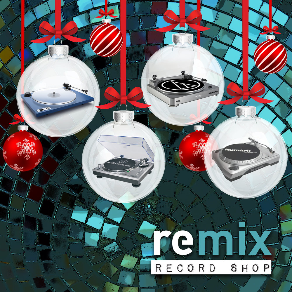 Turntables for sale at REMIX RECORD SHOP. Give the gift of music with a new turntable!   Located 1217 N. Mills Ave, Orlando FL 32803. Open Mon-Sat 11p-7p. Closed Christmas Eve and Christmas Day.   #audiotechnica #uturnaudio #numark#holidaygiftguide2017 #turntables #vinyllover #vinyladdict