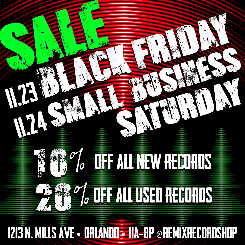 Remixblog Remix Record Shop Orlando Vinyl Record Store
