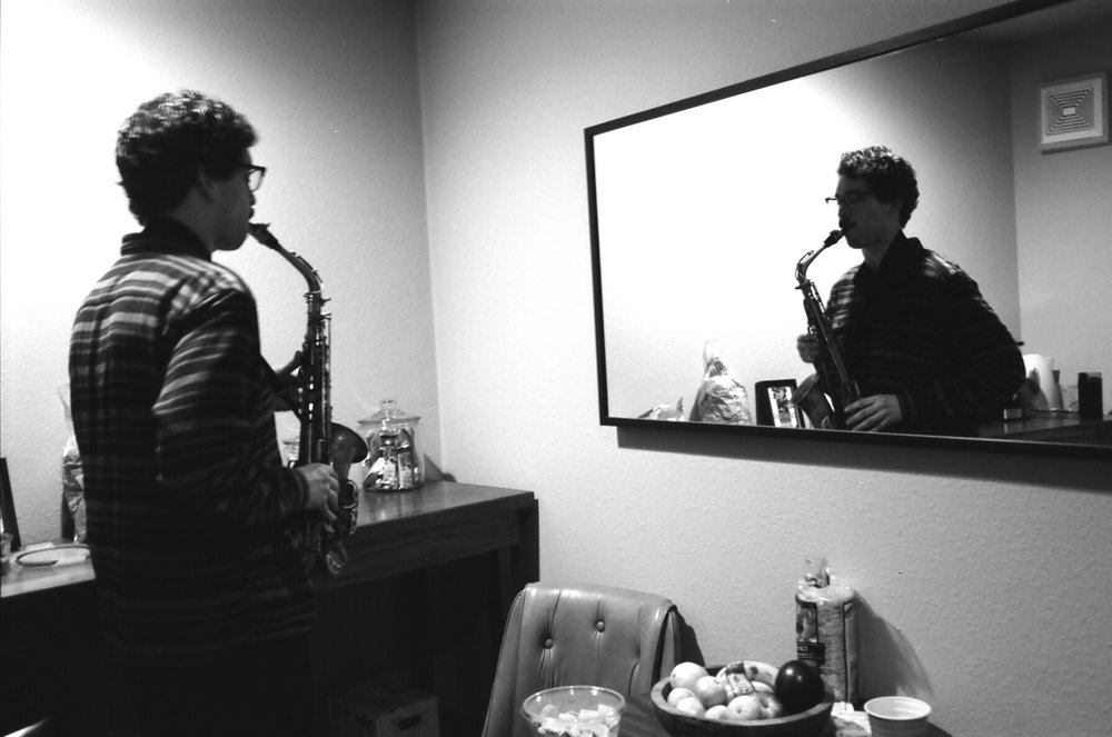 Saxophonist Alex Sadnik (Photo by Devin O'Brien)