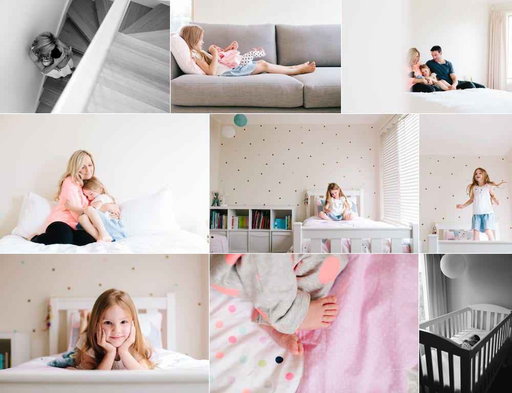 This family session started at around 11am, and really shows how your home plays a big part in your session.