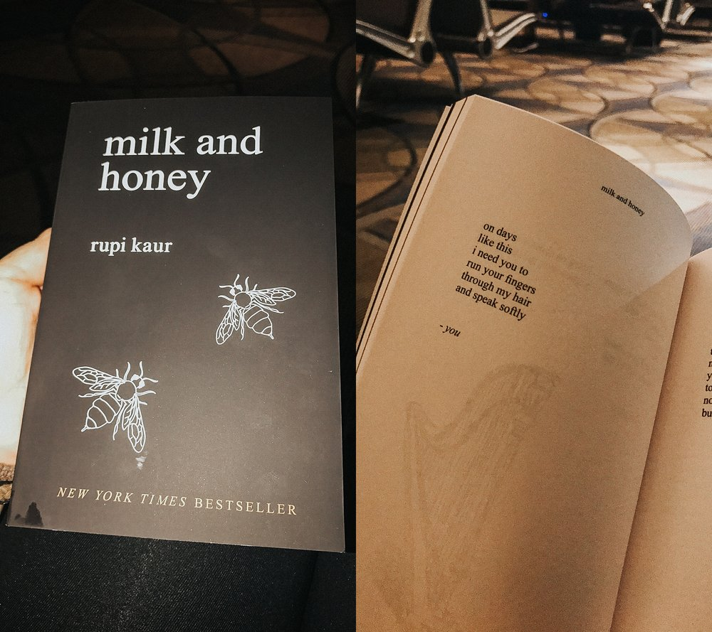 Picked up a copy of Milk and Honey - seriously, go buy it.