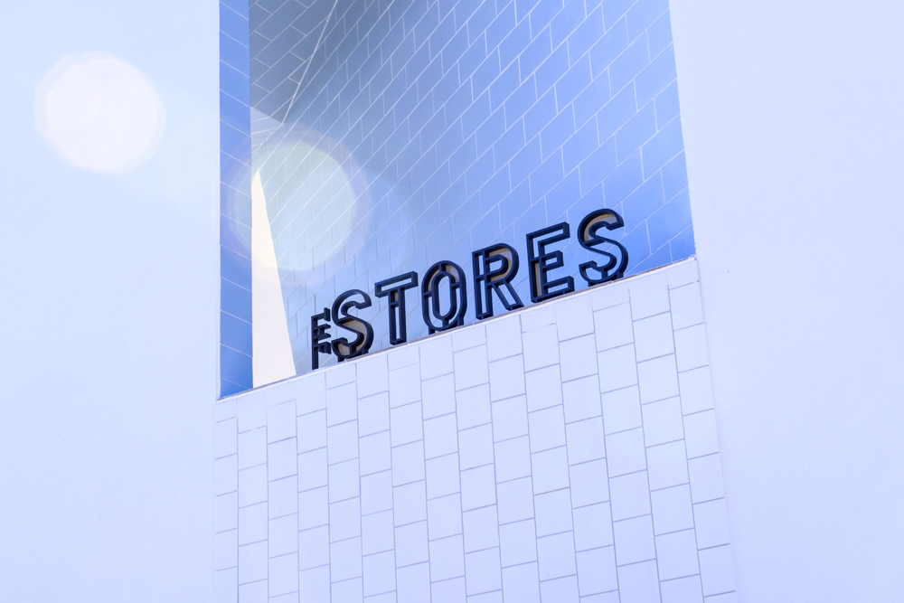 The Stores Signage