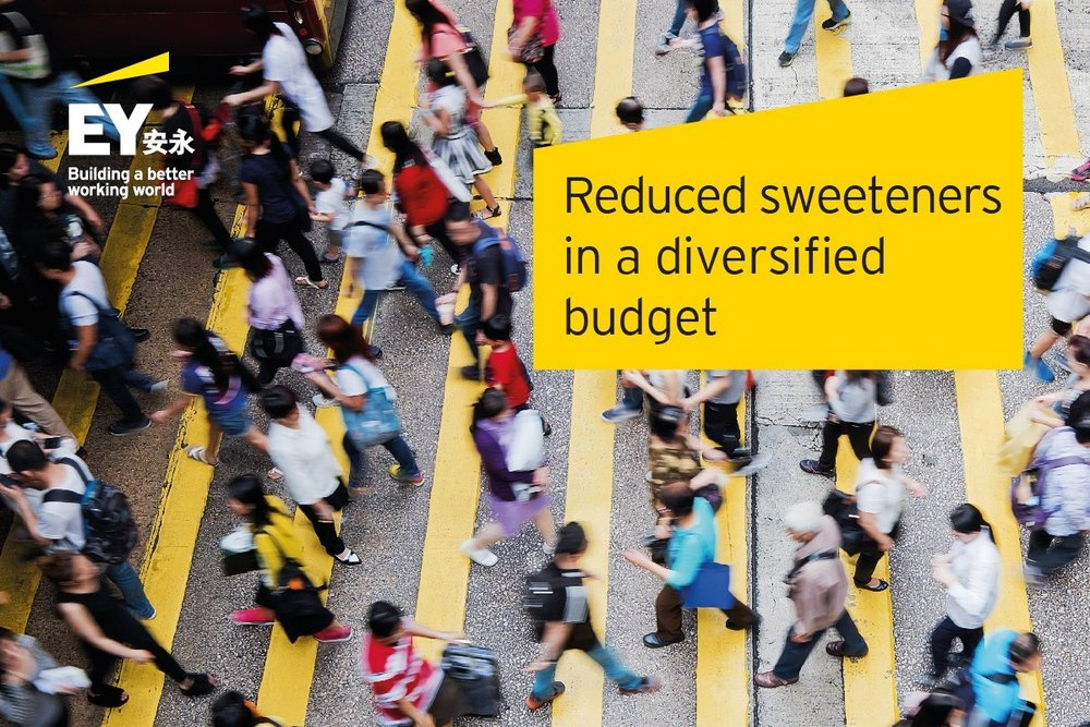 Reduced sweeteners in a diversified budget - EY, April 16, 2019