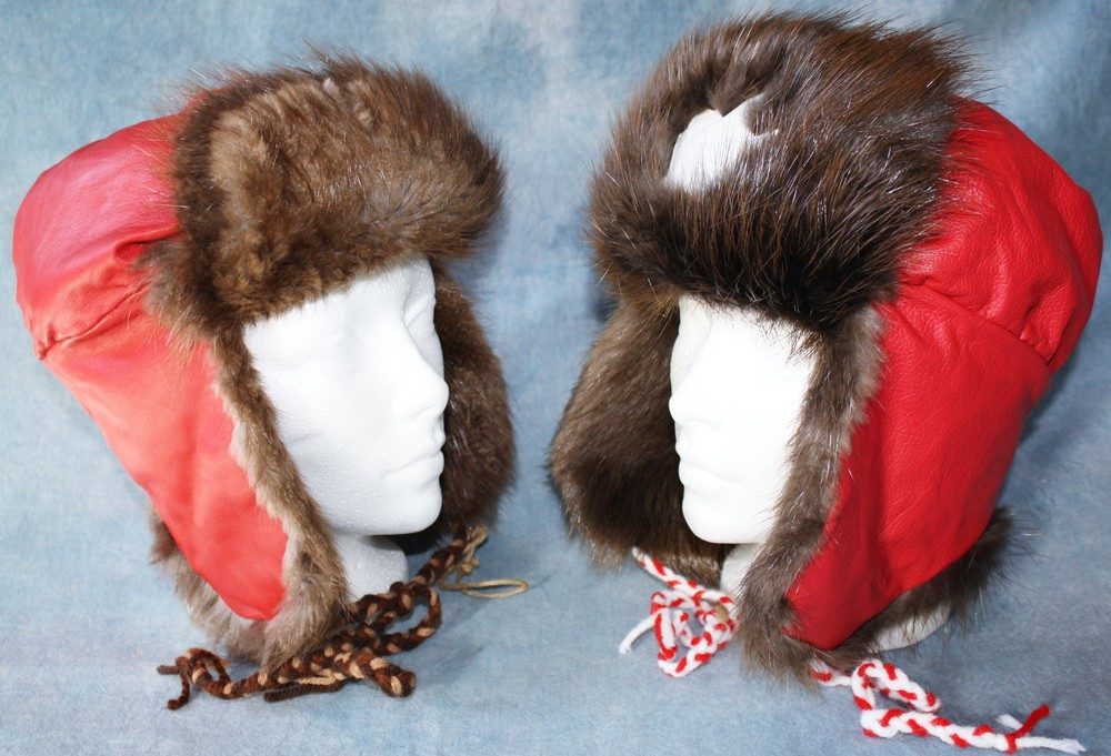 00e5bda53e9cc Unisex Trapper Hat - Canadian Designer Fur — Natural Canadian Fur ...