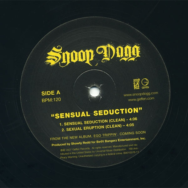 Sensual Seduction (Flashback Remix) - Snoop Dogg
