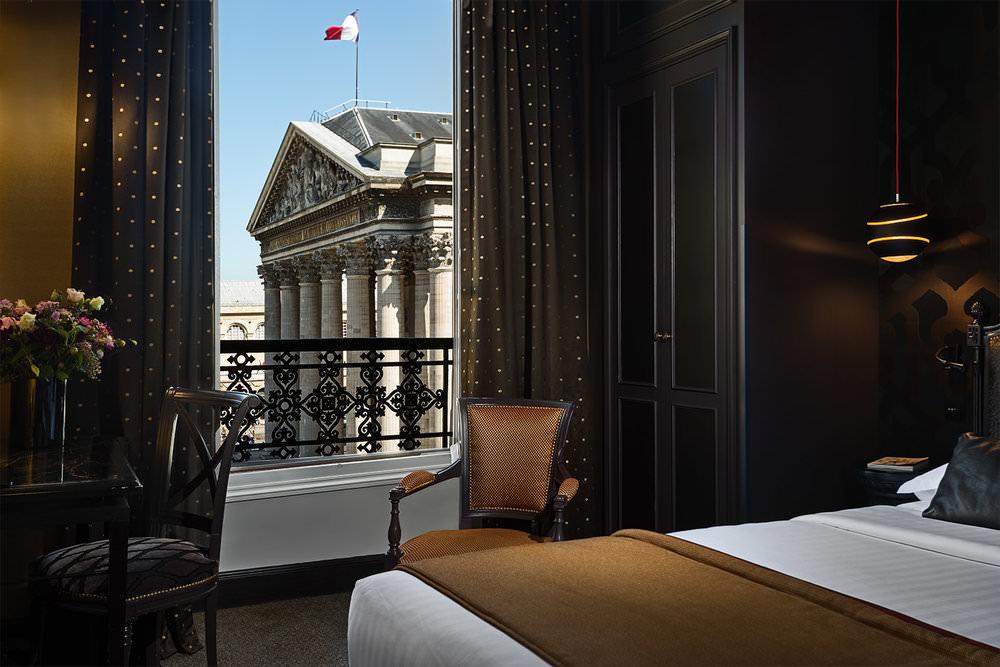 Photographie d'hôtel, Hôtel du Panthéon Paris, photographe hôtel François Guillemin