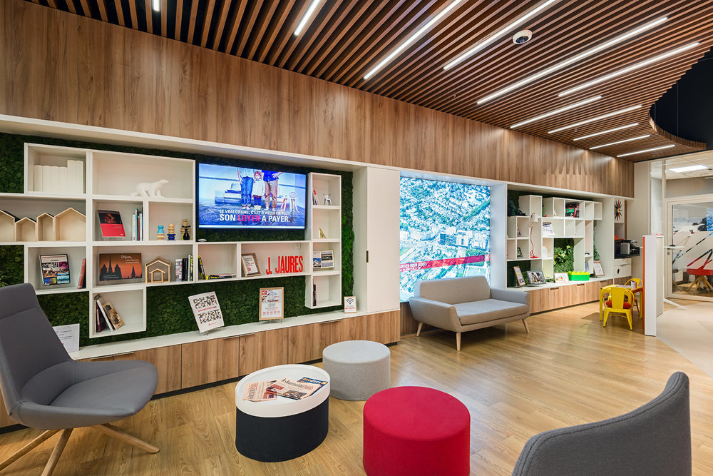Architectes Groupe T&P pour les Caisses d'épargne