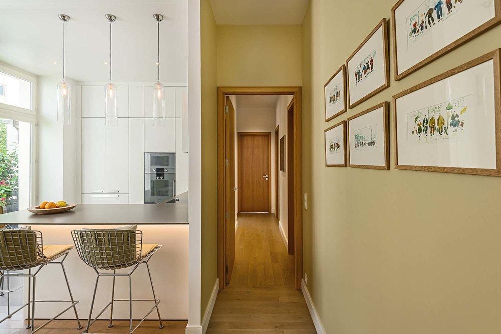 Appartement parisien  , 7ème - architecte d'intérieur Nathalie Marsan