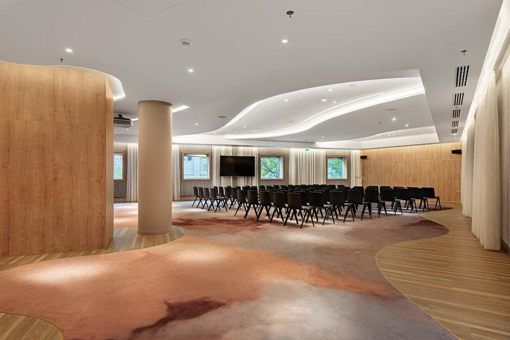 Hôtel Pullman - Salle de conférence  Architecte, Atelier du Torrent