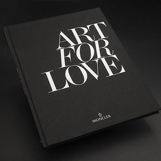 moncler art for love book