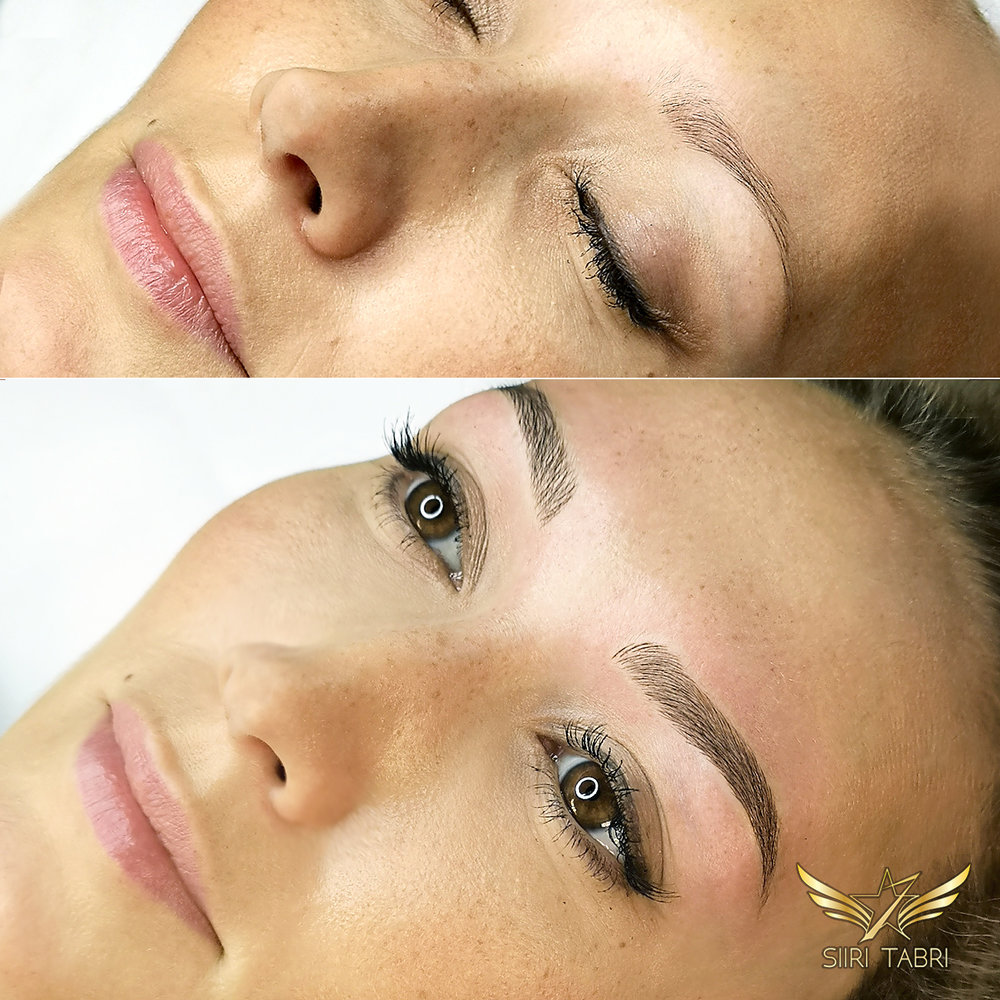 Light microblading. Beautiful women become even more beautiful with Light microblading.