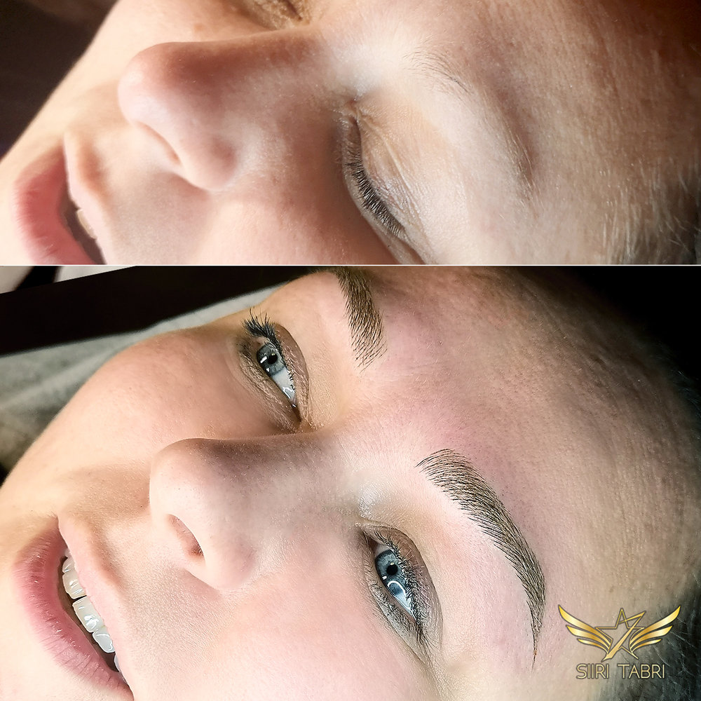 Light microblading. Simply another incredible change. Thank you Light microblading.