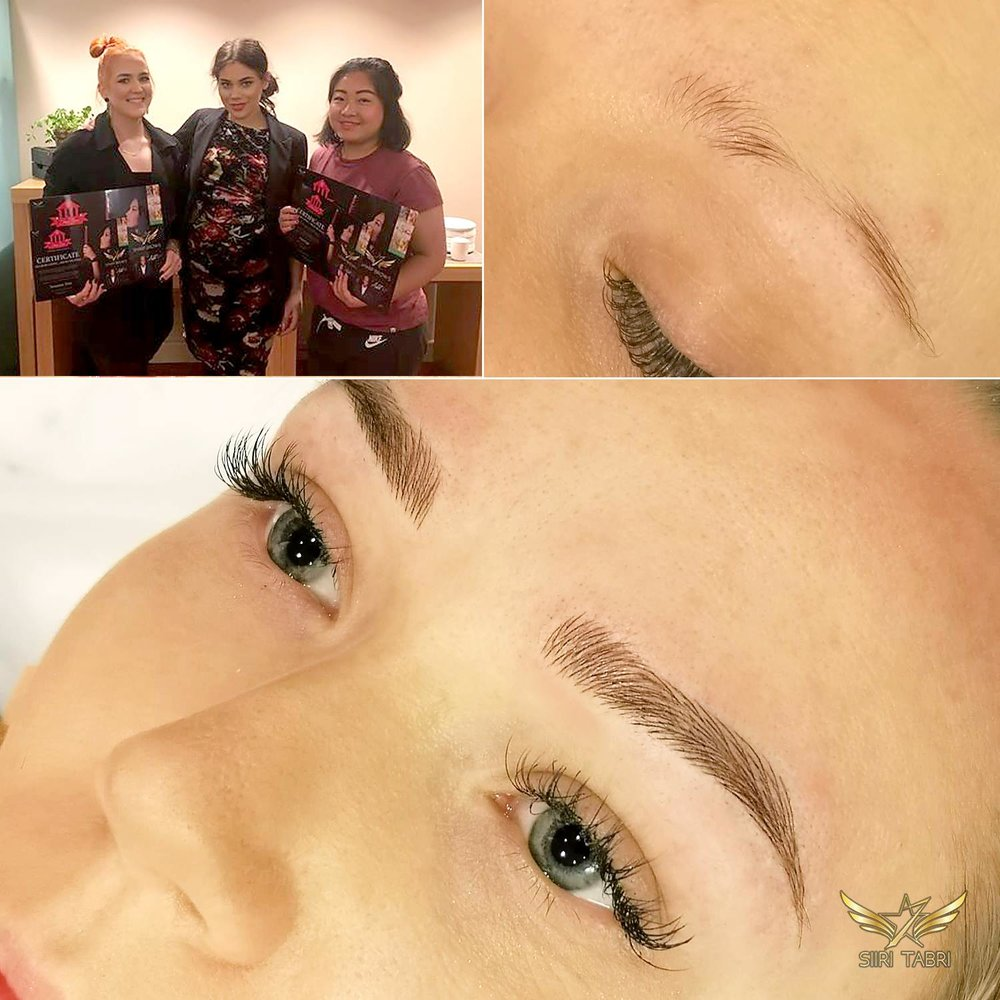 Light microblading - This is just unbelievable what level of brows the students of Siiri Tabri are able to make at the trainings!