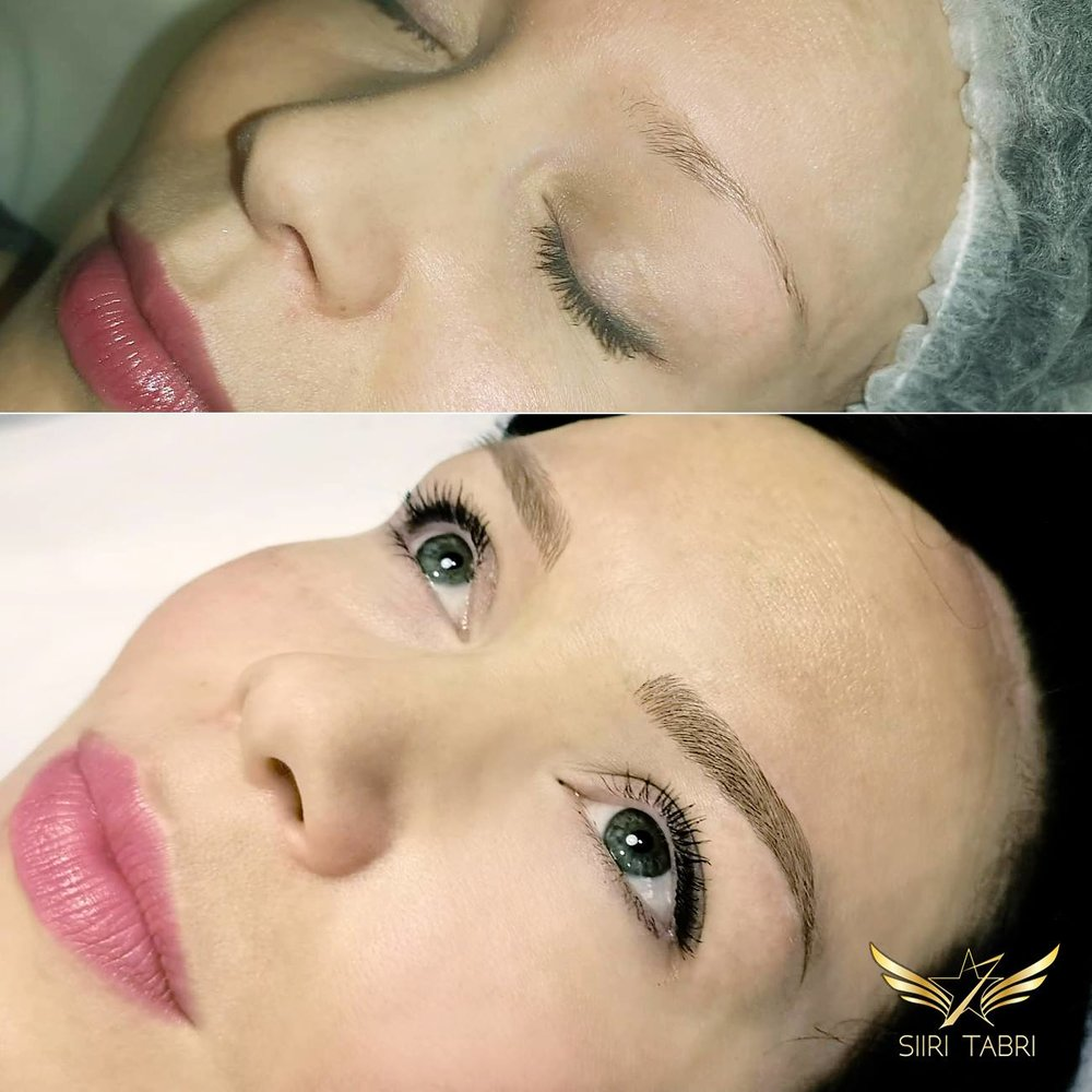 Light microblading - Simply the most natural way of transforming brows.