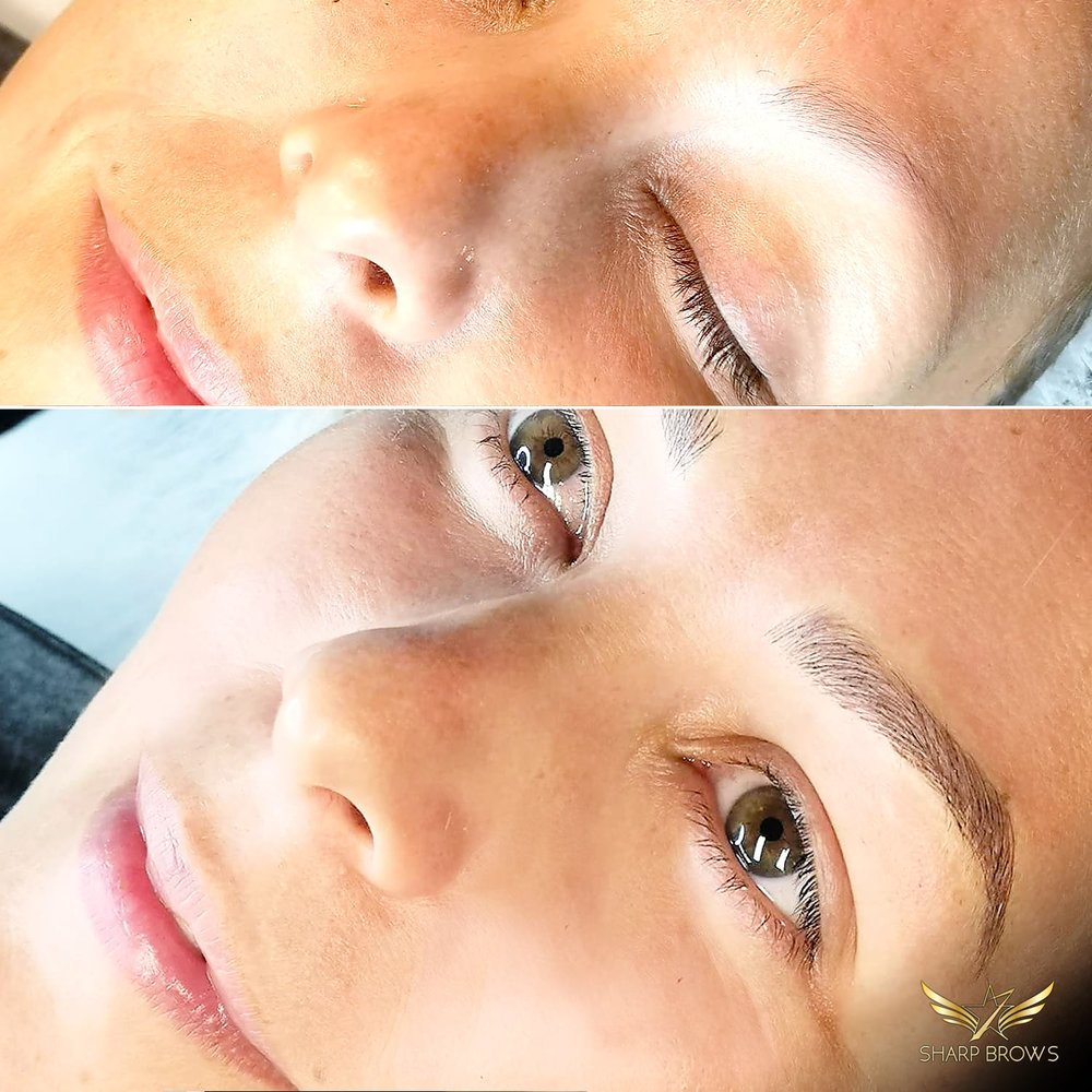 Light microblading - Just a simple change with this fabulous technique.