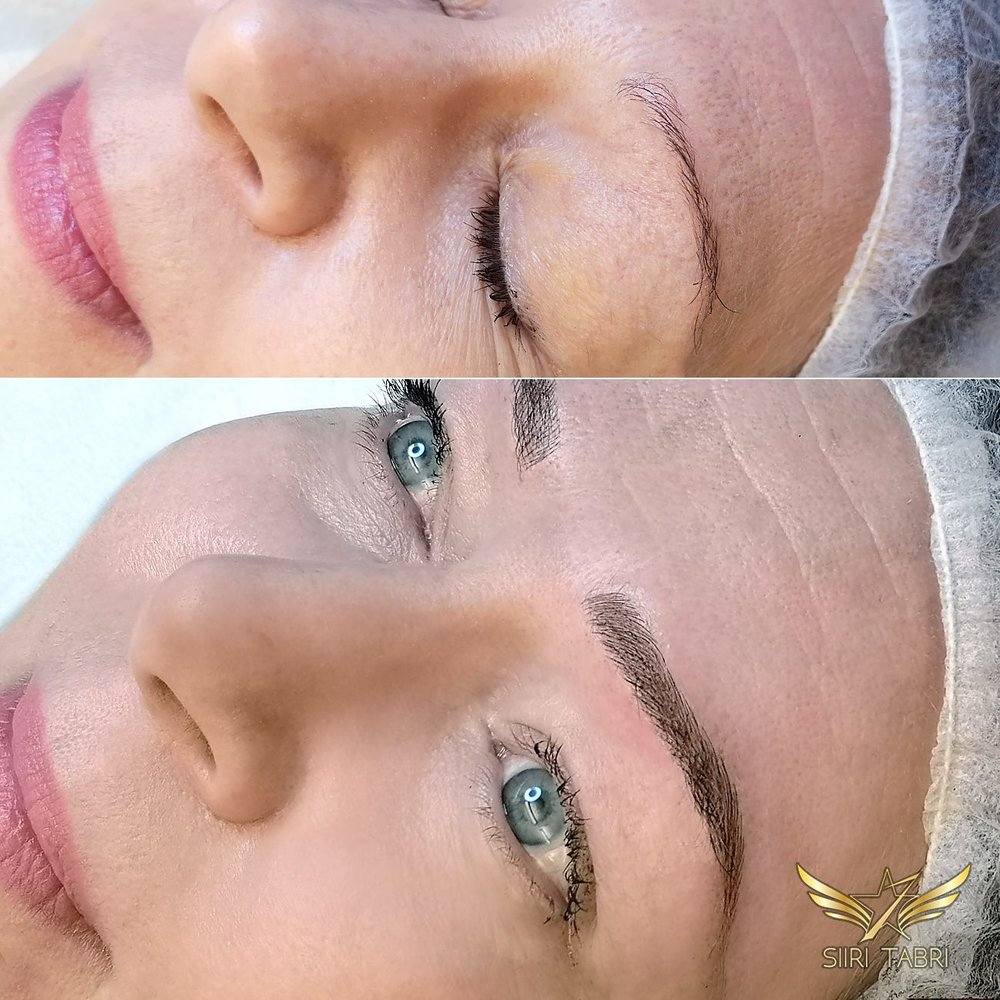 Light microblading - Supreme technique, excellent natural results.