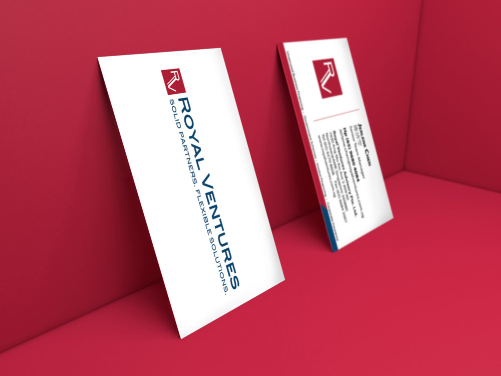 OIE! - Royal Ventures Name Card Design