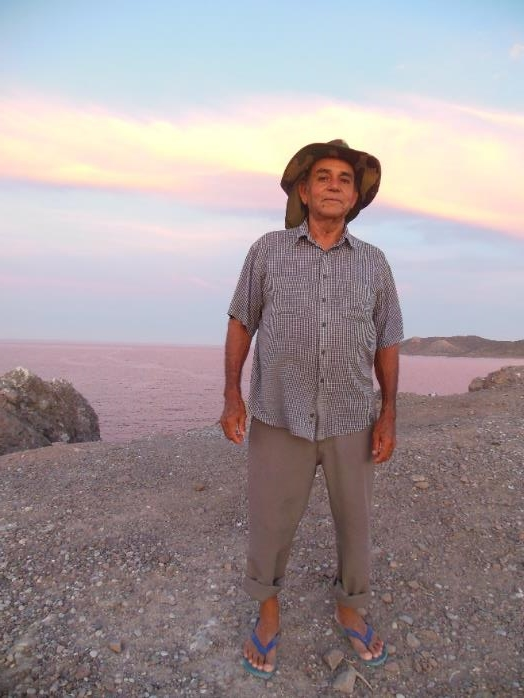 Photo of Pablo Cuevas, a great human being and fisherman - by Lourdes Martínez Estévez