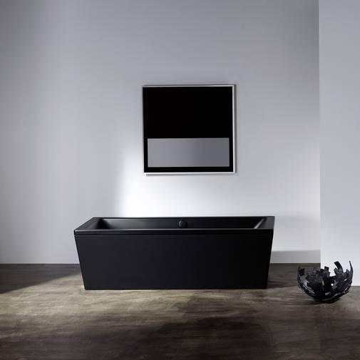 Et flott badekar i emaljert stål. Kvalitet som varer med tidløs verdi. Stålmaljen er robust, ripebestandigog hygienisk. l:1700/1800/1900/2000 b:800/900 h:445