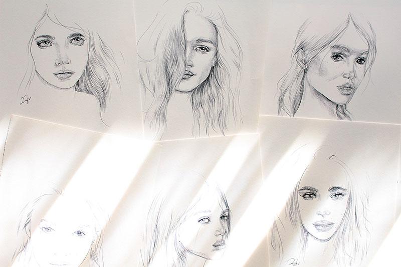 Drawings 15, 16, 17, 18, 19 & 20