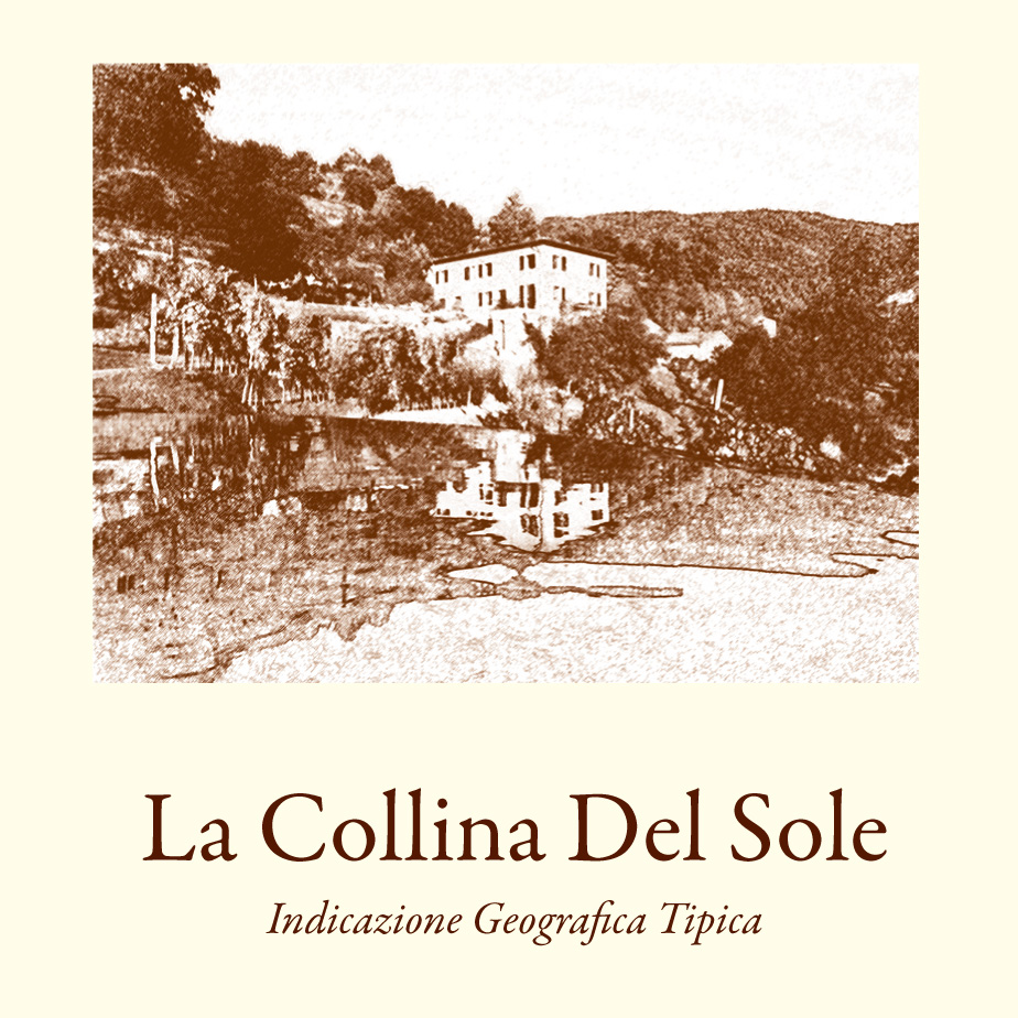 La Collina del Sole Wine Label