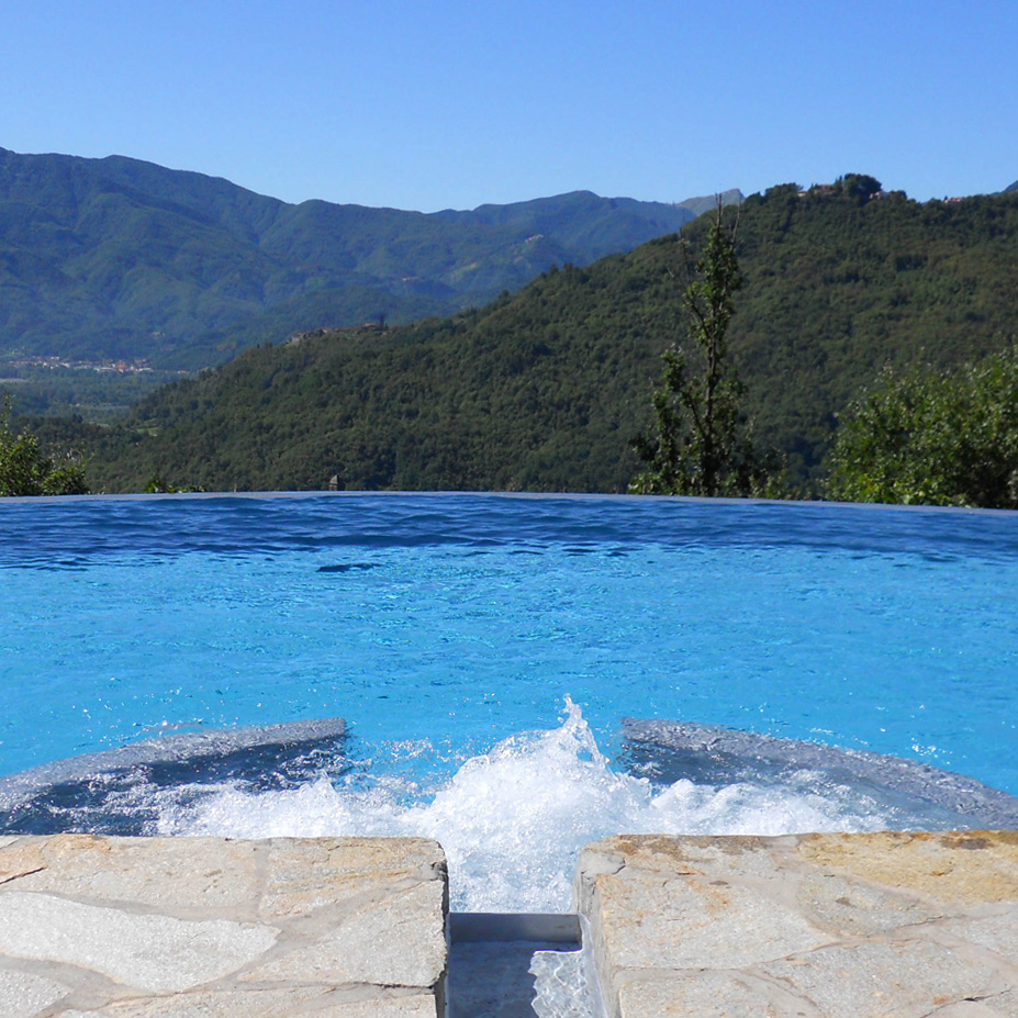 La Collina del Sole  Pool Mounatin View from Pool&JACUZZI