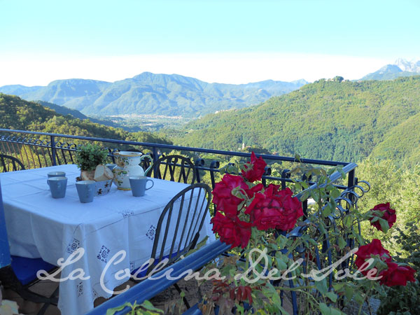View from La Collina del Sole