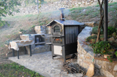 Pizza Oven in full swingMINI