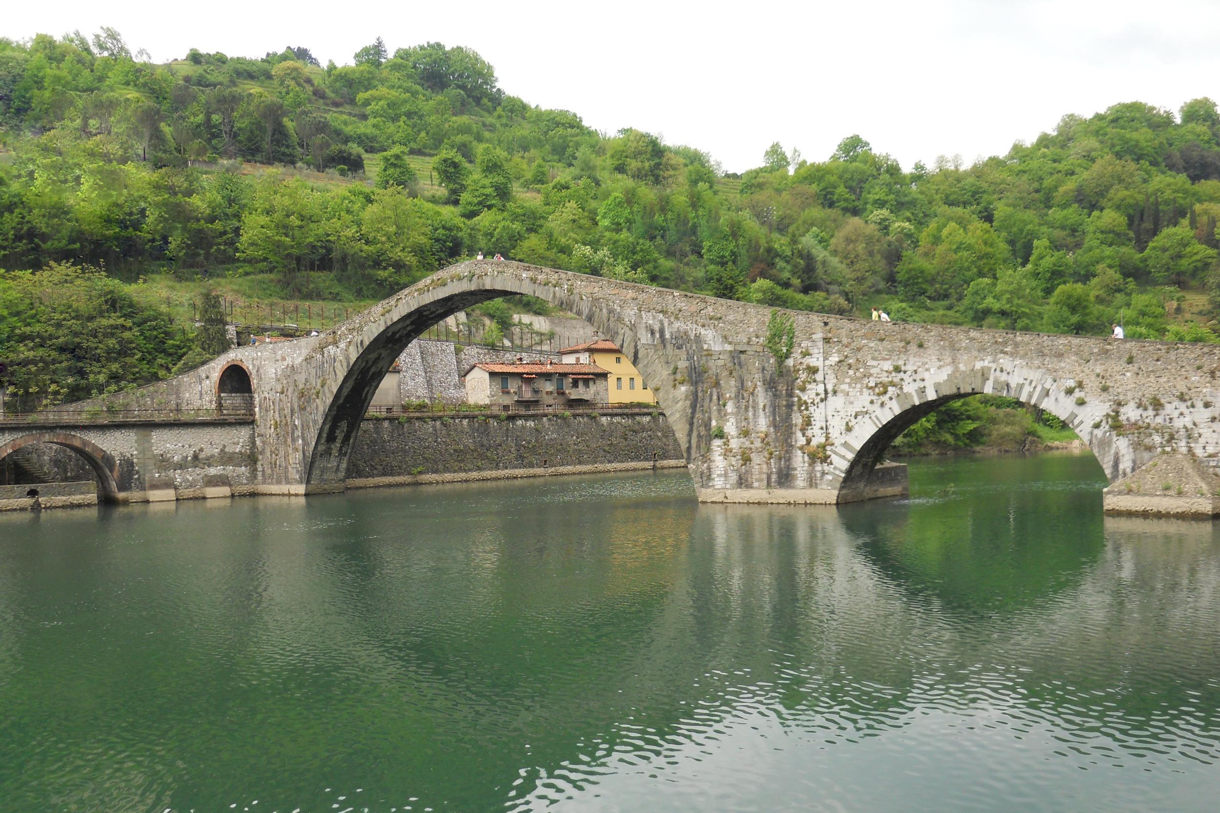 Devils bridge Ponte del Diavolo