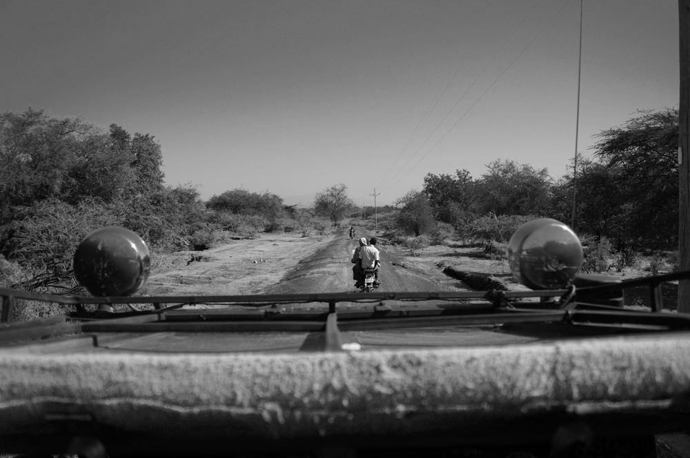 Travelling to the project site through the arid and remote landscape of the Rift Valley.